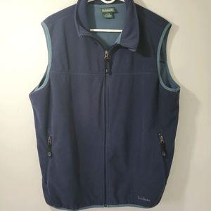 L.L.Bean Fleece Vest size L